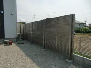 四国化成の多段フェンス